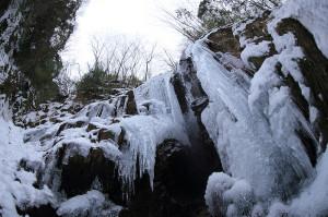六甲有馬氷瀑