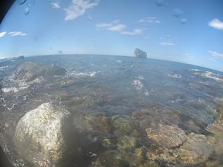 軍艦岩ダイビング